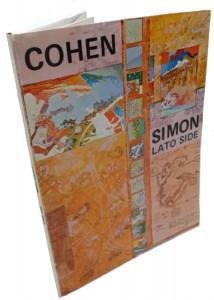 Leonard COHEN,Paul SIMON,LATO SIDE n.6-8,1976 Anteditor...